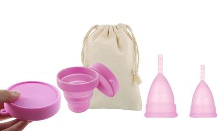Coupes menstruelles Fit Cup et box de stérilisation