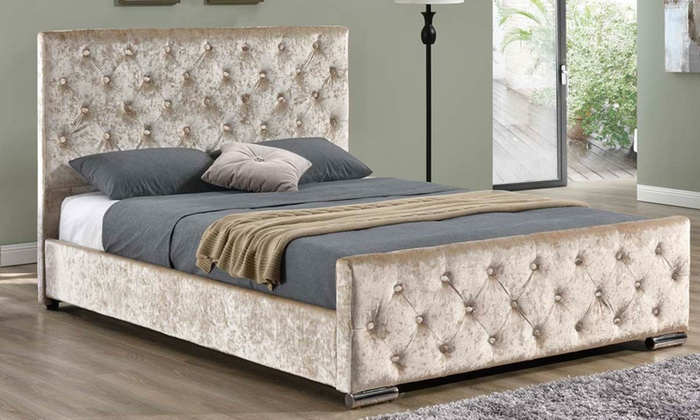 Buckingham bed groupon goods for Beds groupon