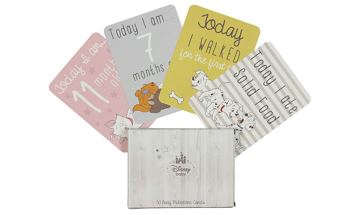 Pack of 30 Disney Milestone Cards from £4.69
