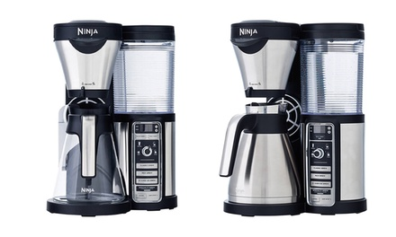 Ninja Coffee Maker Deals : Ninja Auto-Iq Coffee Brewers (Manufacturer Refurbished) Groupon