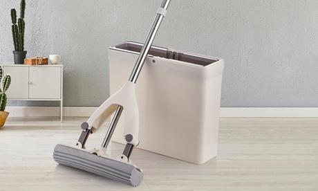 Mopa de esponja con cubo 3 en 1 We Houseware