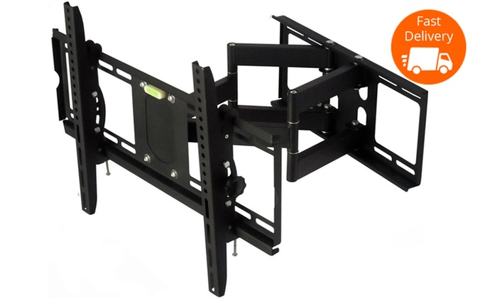 Tv Wall Mount Tilt Swivel Bracket Groupon