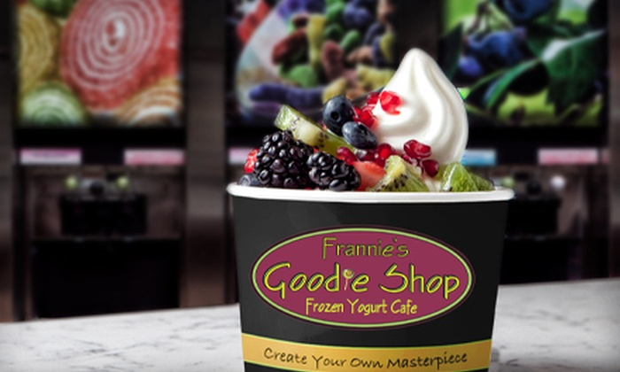 Frannie's Goodie Shop - Mount Kisco: Frozen Yogurt at Frannie's Goodie Shop (Half Off). Two Options Available.