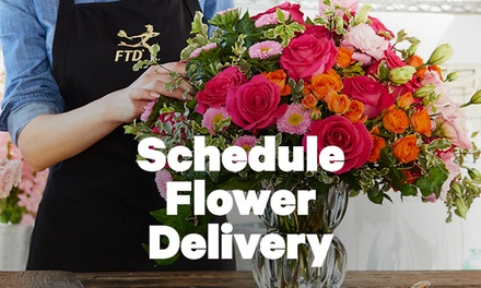 $15 off Local Flower Delivery through Groupon from FTD.com