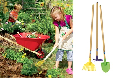 Kids Long-Handled Garden Tools: One ($39), Two ($59) or Three Packs ($79)