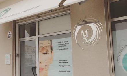 Tratamiento facial Mesojet con radiofrecuencia y mesoterapia por 49,90€ en MS Centro de Estética y Bienestar