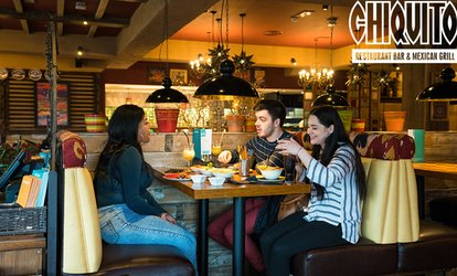 Main Dish with Soft Drink, Beer, Wine or Cocktail for Up to Four at Chiquito, Multiple Locations (Up to 51% Off)
