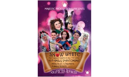 Theatre Tickets to Snow White and The Seven Dwarfs for Up to Four at The Majestic Theatre