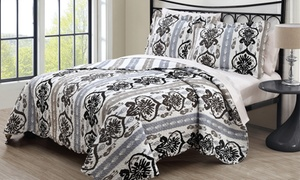 Printed Quilt Sets (3-Piece Sets) at Printed Quilt Sets (3-Piece Sets), plus 9.0% Cash Back from Ebates.