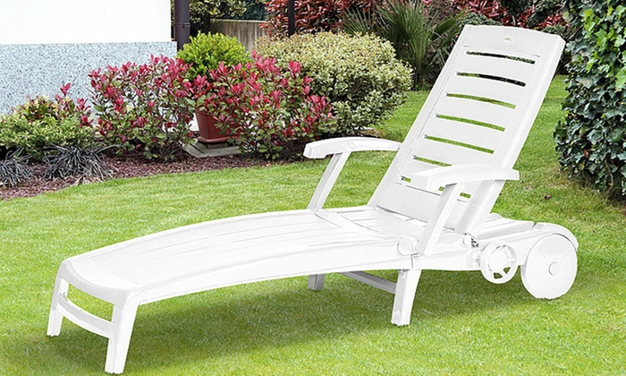 Groupon Goods Global GmbH Multi Position Recliner Sun Lounger for £34.99 With Free Delivery ... & Multi Position Recliner Sun Lounger | Groupon islam-shia.org