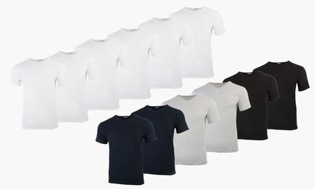 Pack de 6 camisetas Liabel para hombre