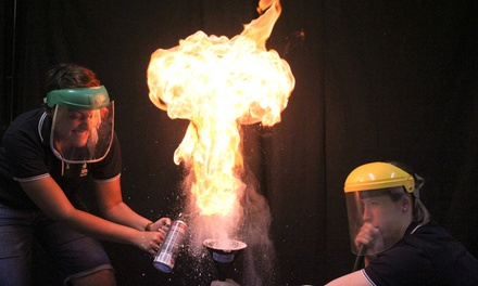 Science Party Kids $299 or a Science Show for Up to 240 Kids $499 from Fizzics Education Up to $990 Value
