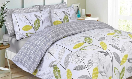 Chloe Easy Care Reversible Duvet Set