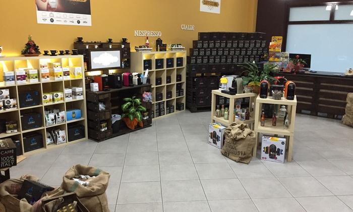 Caffissima - Più sedi: Fino a 400 capsule compatibili con Nespresso, Lavazza A Modo Mio, Uno System da Caffissima. Valido in 2 sedi