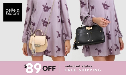 Belle & Bloom: $9.95 for $89 Online Credit to Spend on Selected Bags
