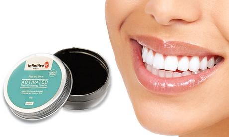 Fino a 6 confezioni di polvere sbiancante per denti a base di carbone attivo Infinitive Beauty 50 g