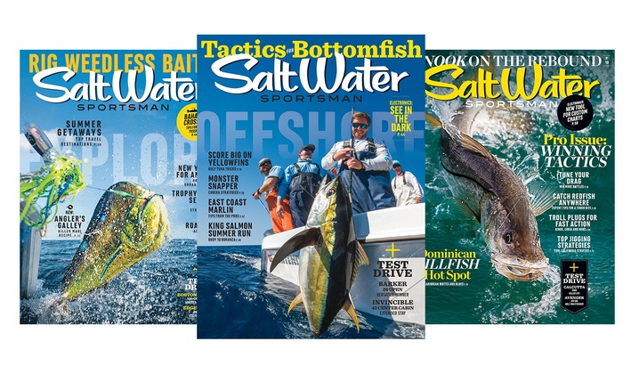 1-Year Subscription to Salt Water Sportsman Magazine (10 Issues)