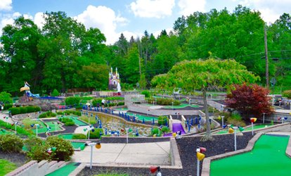 image for Mini Golf and Soft Serve Ice Cream Package for Two or Four at Buzzard Cove (Up to 49% Off)