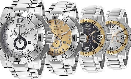 Invicta Men's Excursion Reserve Swiss Chronograph Watch
