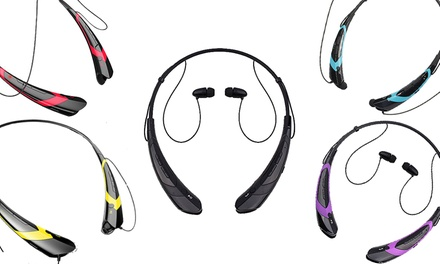 Bluetooth Stereo Neckband Headset: One ($17.95) or Two ($29.95)