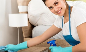 Mop It Up: House Cleaning 1 hour ($25) or upgrade to 2 hours ($39) or 3 hours ($89) home package with windows and oven.