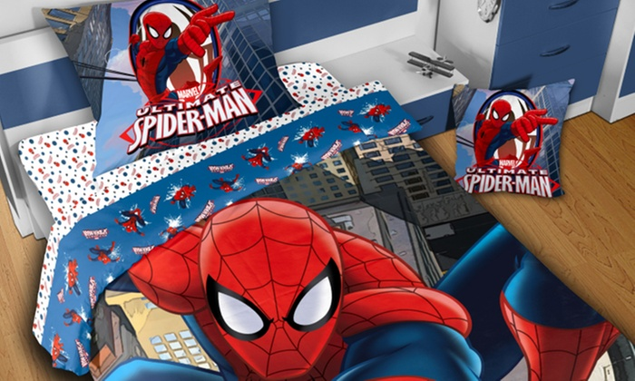Parure lenzuola disney groupon goods - Letto di spiderman ...