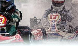 Polenta & Motori: Giri liberi e Grand Prix in kart fino a 7 persone, ai piedi dei Colli Euganei con Polenta & Motori
