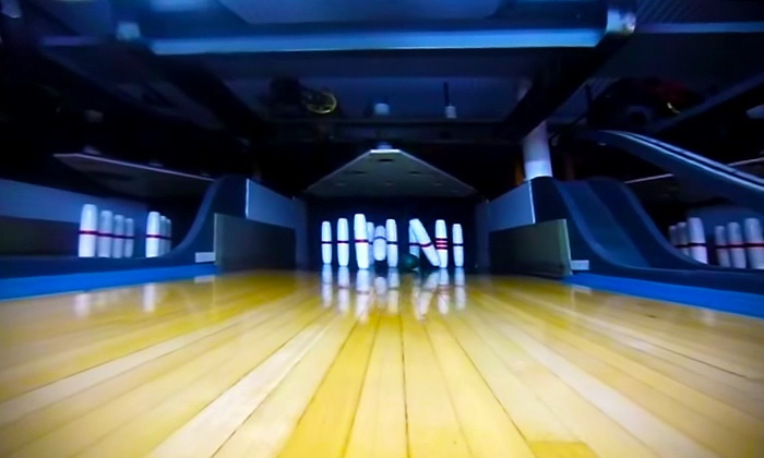 Needham Bowlaway - Needham: $21 for One Hour of Bowling with Shoe Rentals for Four People at Needham Bowlaway ($41 Value)