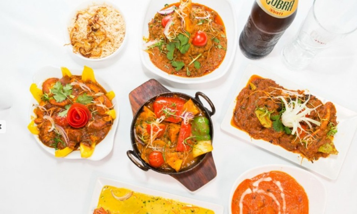 India India, Fleet Street  - London: Indian Meal with Rice and Naan for Two at India India, Fleet Street (Up to 61% Off)