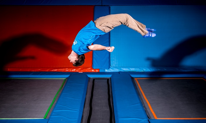 The Air Port - Tulsa: Two Hours of Jump Time for One, Two, or Four at The Air Port (Up to 41% Off)