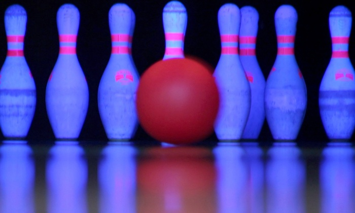 Oak Hill Lanes - Oak Hills: $24 for Cosmic Bowling for Up to Four with Included Shoe Rental at Oak Hills Lanes (Up to $55 Value)