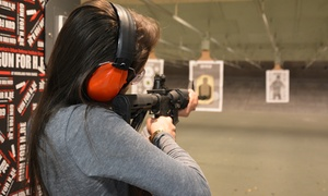 Gun For Hire: $159 for a Shooting-Range Package for Two at Gun For Hire ($208 Value)