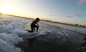 Fox Surf Lessons: 90-Minute Surf Lesson for One or Two from Fox Surf Lessons (39% Off)