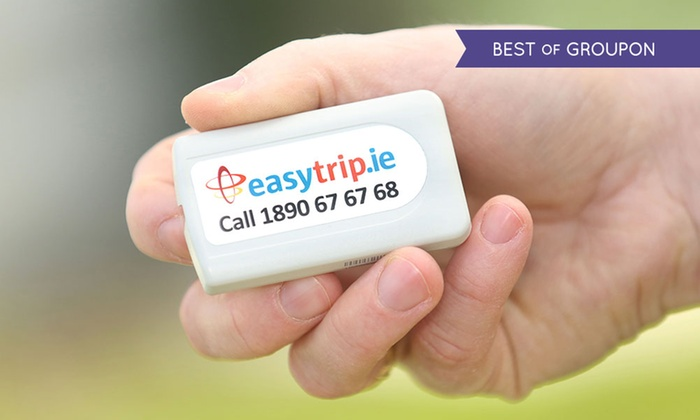 Easytrip Services Ireland Ltd - Multiple Locations: Up to €25 Toward Toll Road and Parking on a Rented Toll Tag from Easytrip Services Ireland (Up to 40% Off)