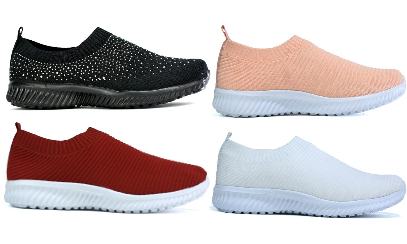 Women's Casual Slip-On Trainers