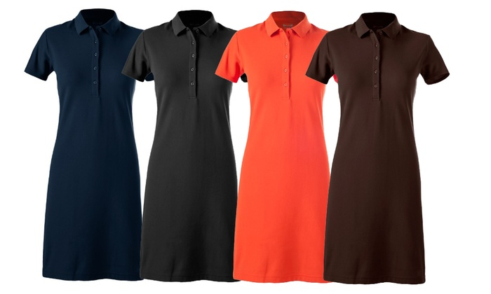 Up To 78% Off on Women\'s Active Polo Dress | Groupon Goods