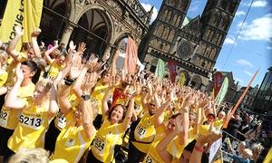 Deutsche Post Ladies Run: Startplatz inkl. T-Shirt und Zeitmesser für den Deutsche Post Ladies Run in verschiedenen Städten (41% sparen)