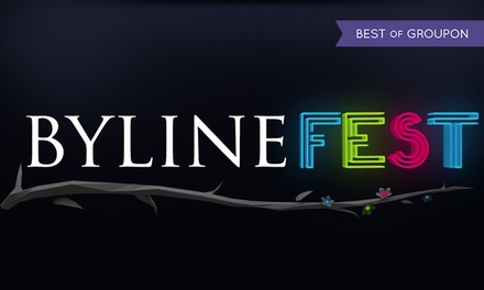 Byline Festival, 2 – 4 June, Pippingford Park (Up to 20% Off*)