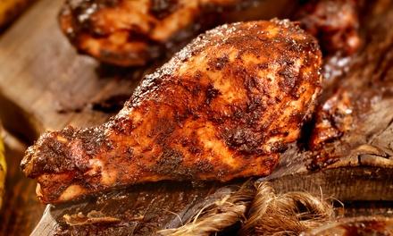 1 kg di carne alla griglia e vino