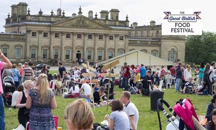 The Great British Food Festival: OneDay Entry for Two Adults, Harewood House, Leeds, 26 28 May