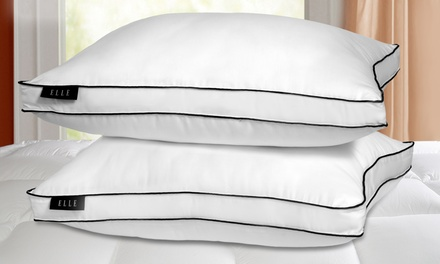 2-Pack of Elle 1200-Thread-Count Down-Alternative Pillows