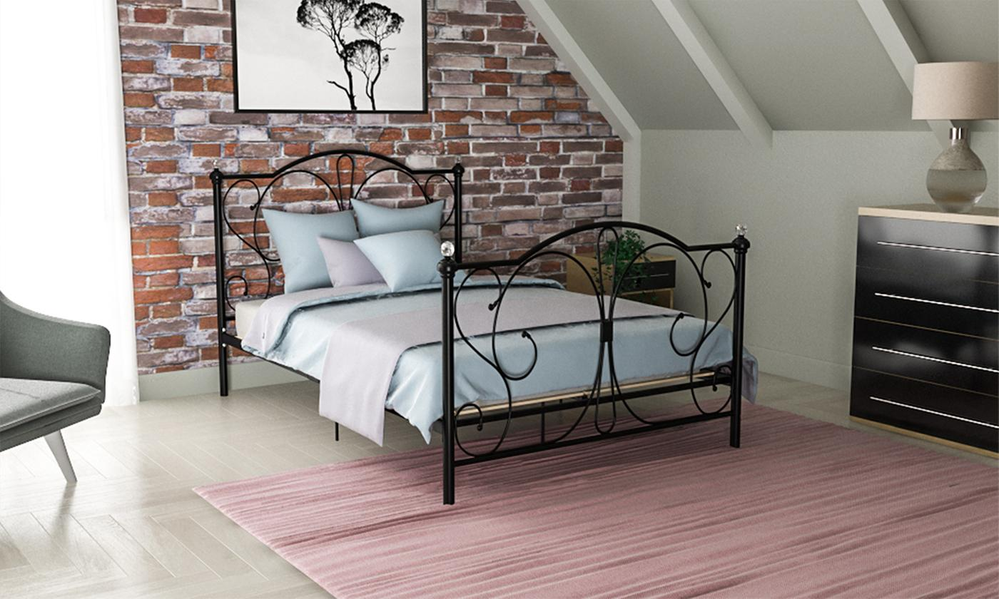 Barcelona Metal Bed Frame from £94.99 (60% OFF)