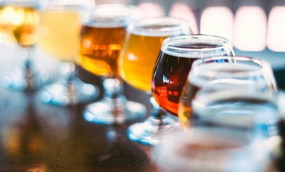 Craft Beer Tasting for One or Two, Including Five or Ten Beers at Brixton Tap