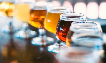 Craft Beer Tasting for One or Two, Including Five or Ten Beers at Brixton Tap (London)