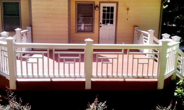 The Deck Doctor - Forest Landing: $50 for Power Washing for Deck Up to 250 Sq. Ft. from The Deck Doctor ($125 Value)