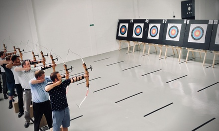 OneHour Indoor Archery Session for Up to Four at Indoor Archery