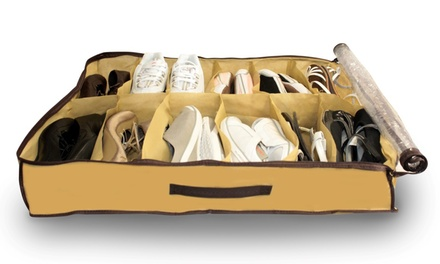 1 o 2 organizadores de zapatos con capacidad para 12 pares