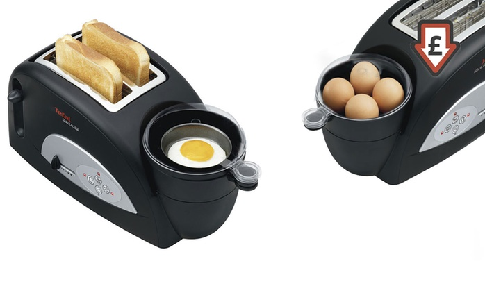 Tefal Toast n Egg Toaster with Egg Boiler for £25 With Free Delivery (58% Off)