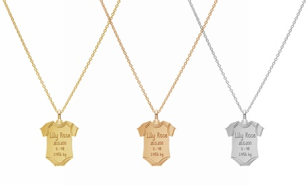 Up to Three Necklaces with Customisable Engraving With Free Delivery