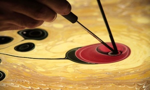 Turkish Cultural Center Massachusetts: Beginner's Water Marbling Class for One or Two People at Turkish Cultural Center Massachusetts (Up to 55% Off)